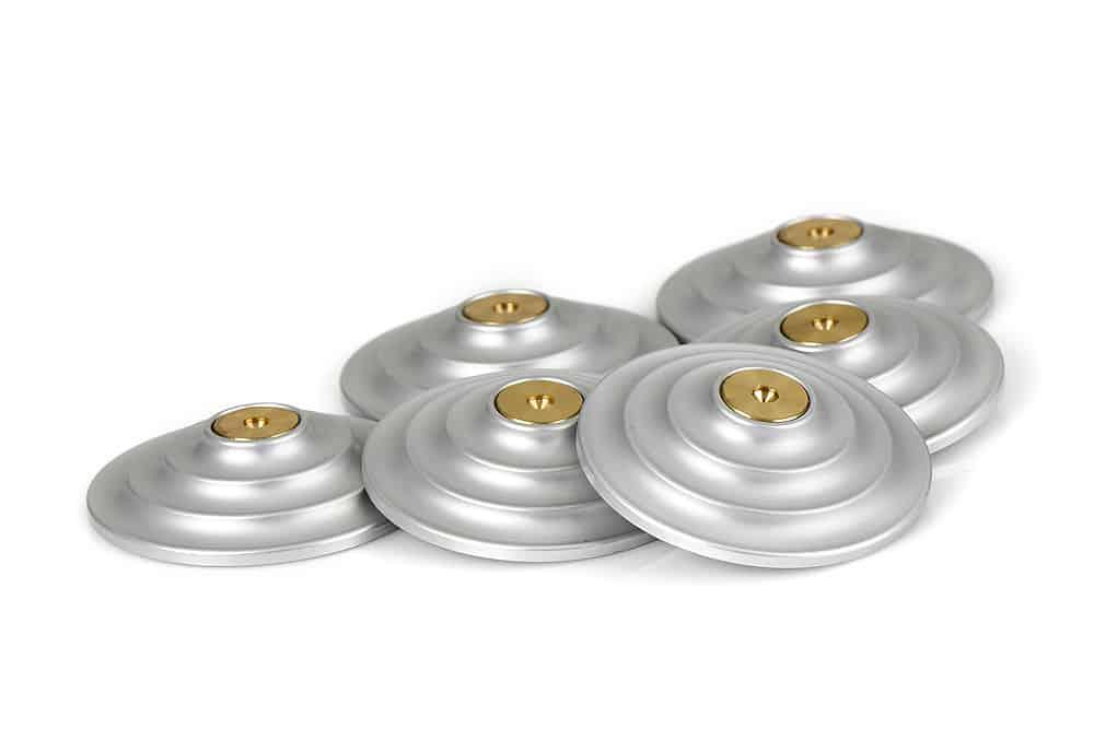 Floor protectors Silver Image