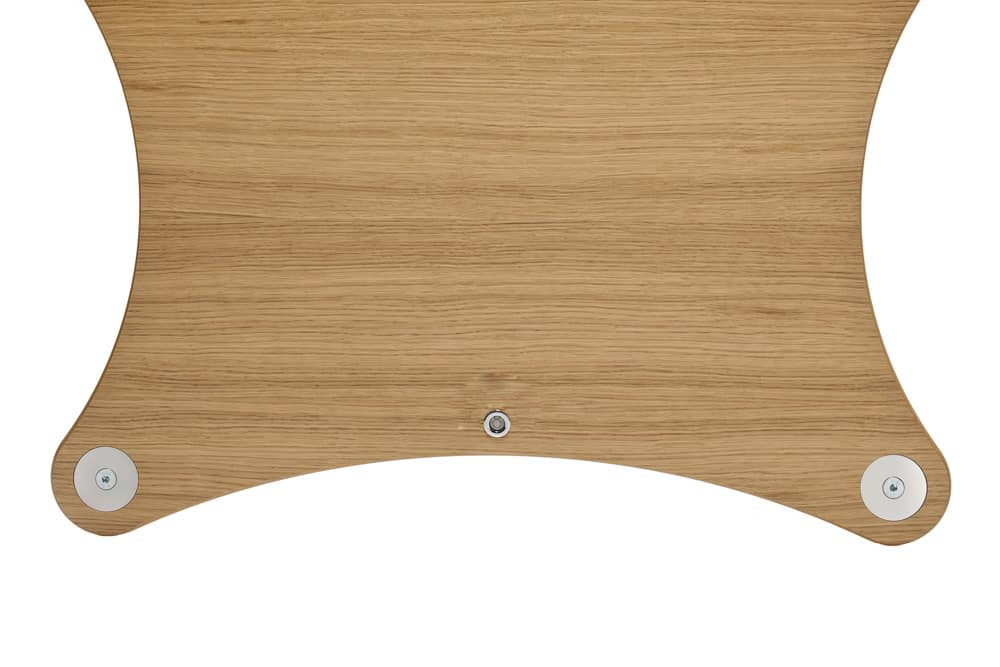 Radius Shelf - Oak Veneer Image