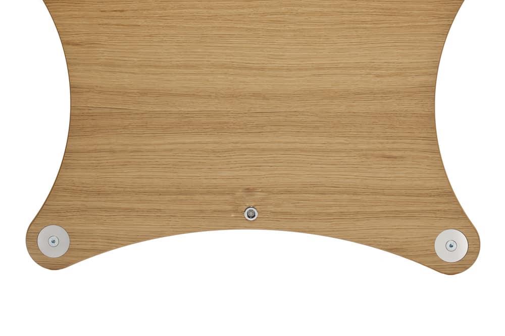 Radius Shelf - Oak Veneer Image