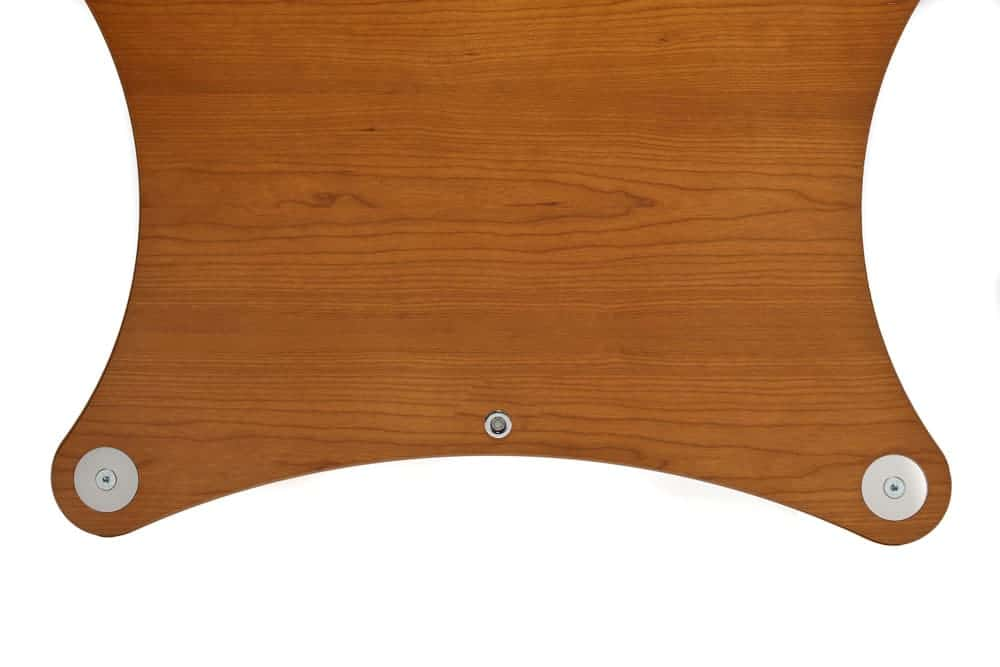 Radius Shelf - Cherry Veneer Image