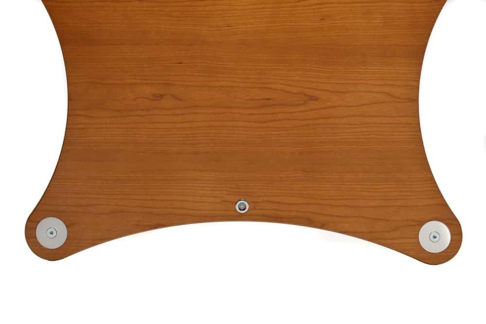 Radius Shelf - Cherry Veneer Image