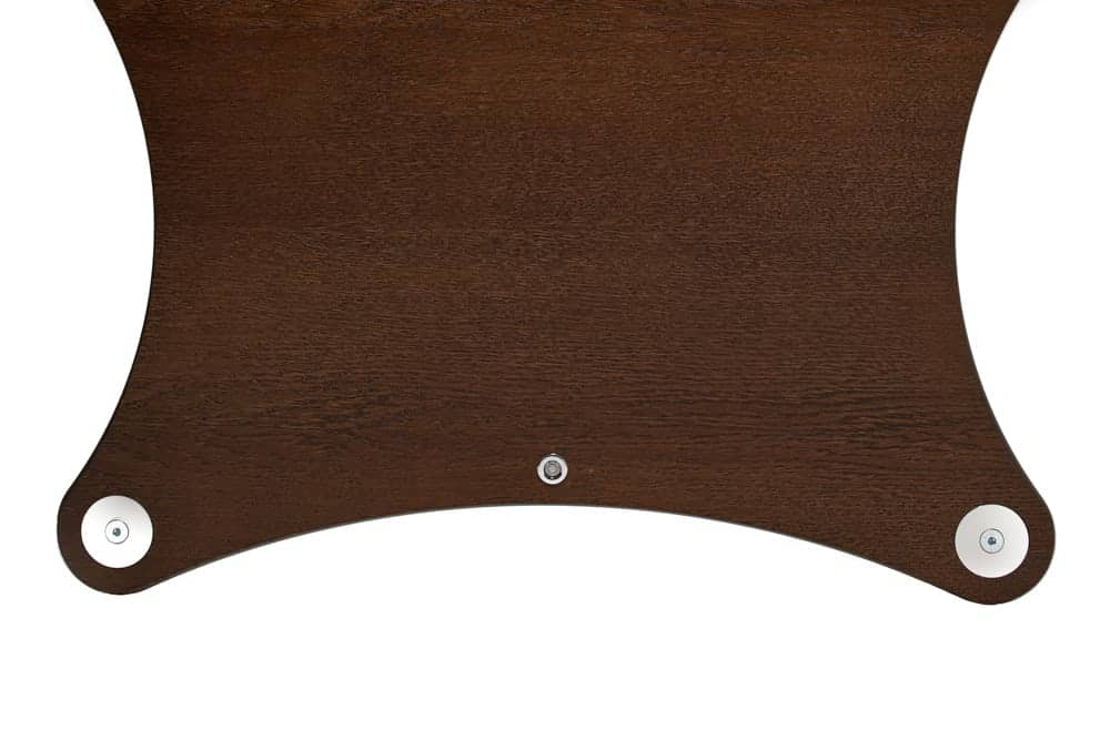 Radius Shelf - Mocca stained Oak Veneer Image