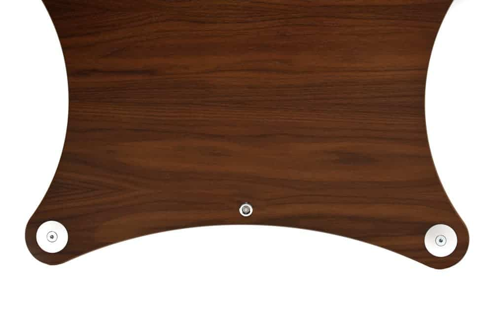 Radius Shelf - Walnut Veneer Image