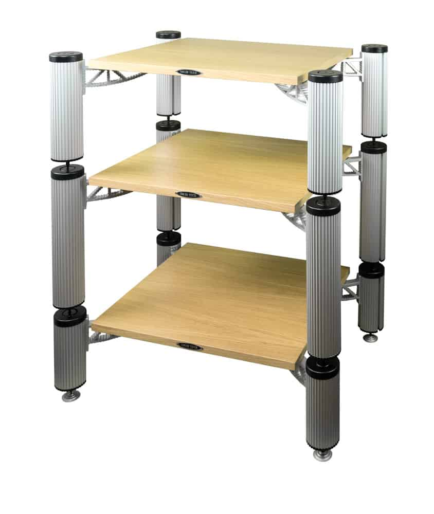 Hybrid Rack with shelfs in Oak Image