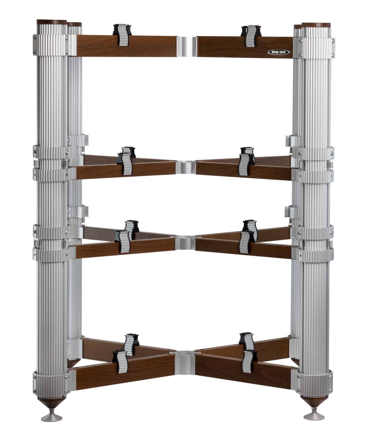 Rack of Silence 4 Reference in Silver and Walnut stained beech Image