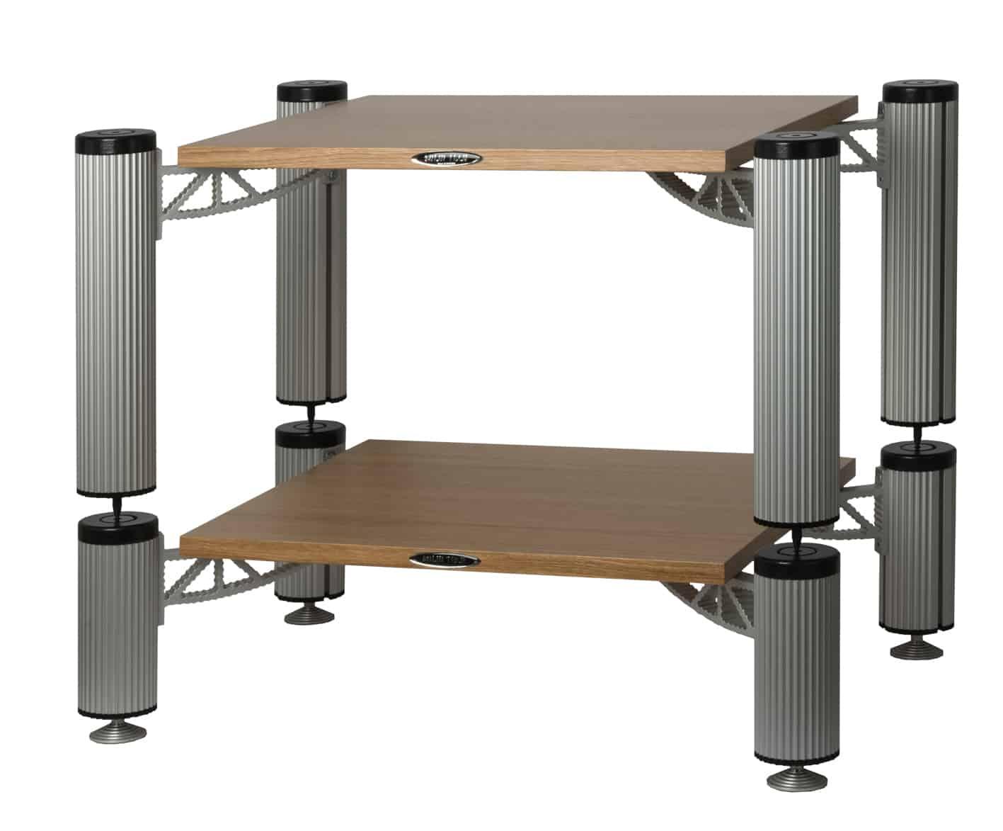 Hybrid Rack with shelves in Oak Image