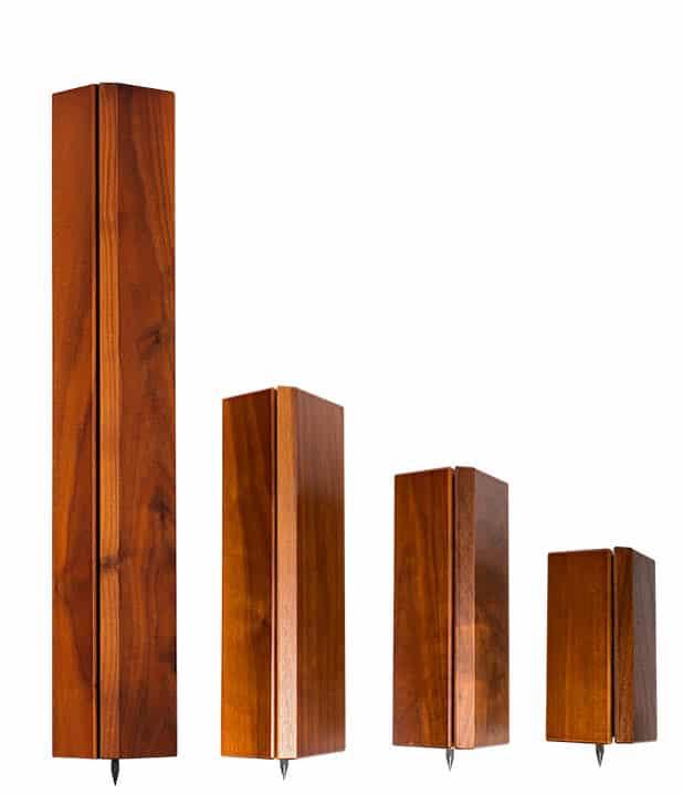 Hybrid Wood Pillar Sizes Image