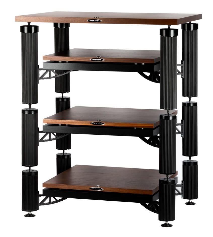 Hybrid 3 Shelf-kit design with isolation shelf-kit HD and top shelf in walnut Image